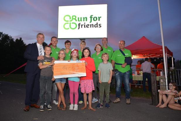 Run For Friends in Waardamme brengt minstens 14.000 euro voor Bednet en Kinderkankerfonds op