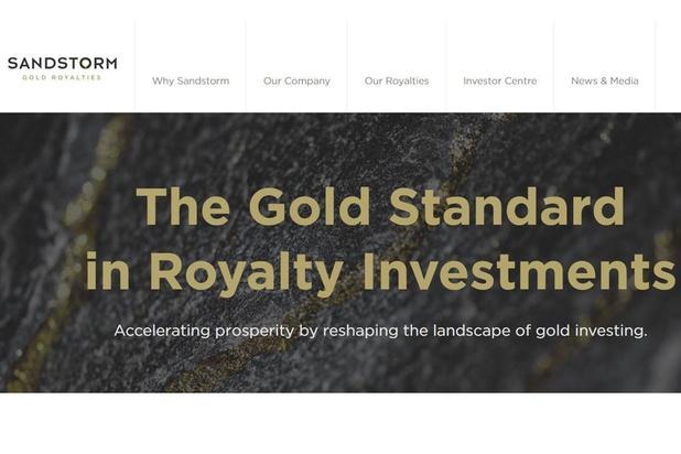 Résultats records au 2e trimestre pour Sandstorm Gold