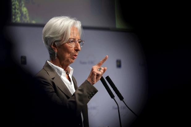 Christine Lagarde (ECB): 'Overheden moeten groei aanjagen'