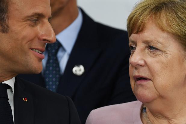 EU-topjobs: Merkel wil 'breedst mogelijke consensus', Macron pleit voor hervorming regels