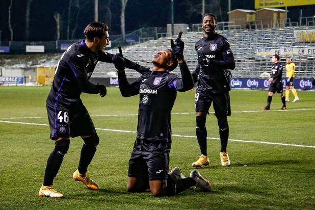 Coupe de Belgique: Anderlecht s'impose largement face à l'Union et rejoint les quarts de finale