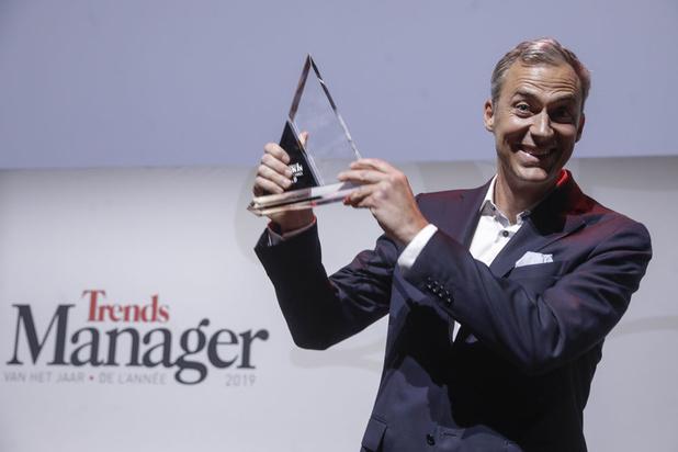 Yvan Verougstraete (CEO Medi-Market) is Manager de l'Année