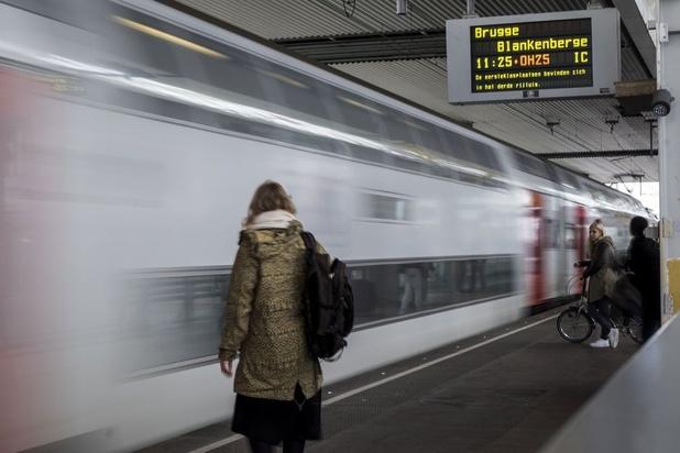 C'est officiel, la ponctualité des trains belges est la pire d'Europe