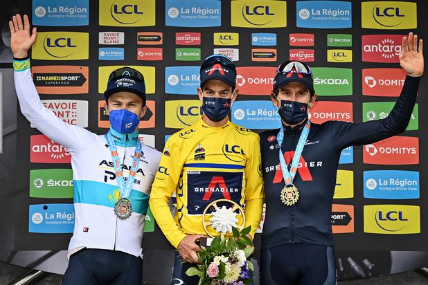 Critérium du Dauphiné: Ineos reprend la main avec Richie Porte