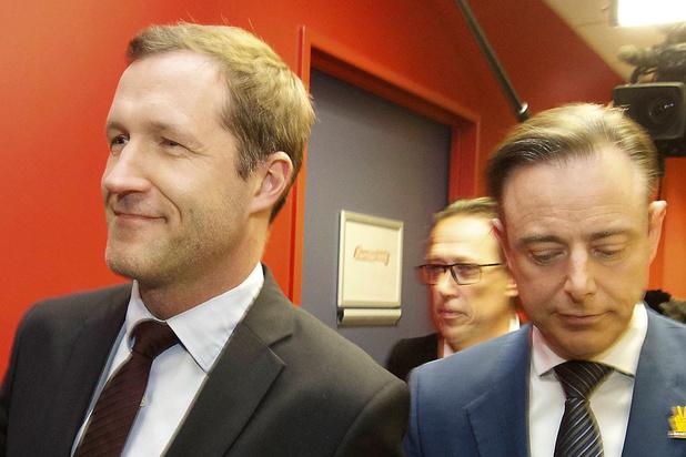 Formation fédérale: Bart De Wever s'énerve