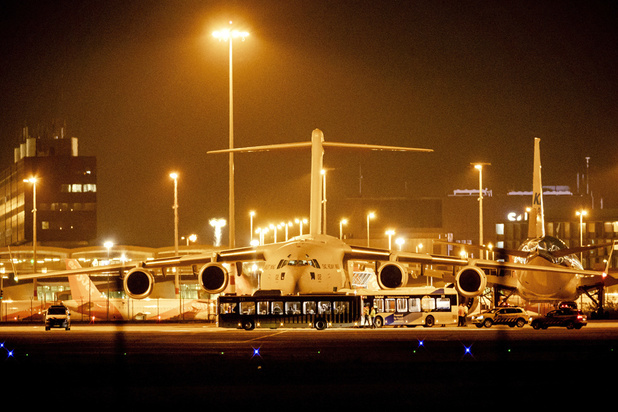 Sept personnes avec la nationalité belge sur un vol néerlandais
