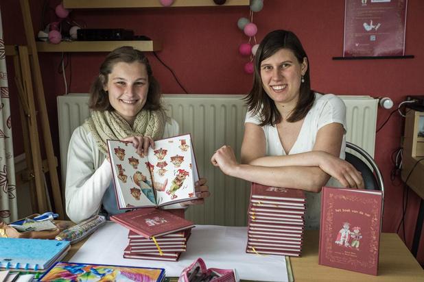 Hanne en Katrijn uit Roeselare stimuleren jongeren met De Letterburcht
