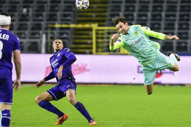 Jupiler Pro League: Le Sporting d'Anderlecht bat le Racing Genk