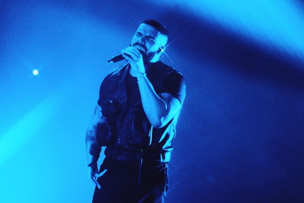 Drake kwam, zag en stelde teleur in het Sportpaleis