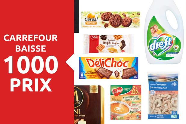 Carrefour: des baisses de prix en trompe-l'oeil?