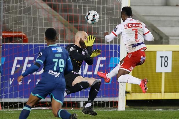 Jupiler Pro League: Mouscron bat le Beerschot 3-1 et quitte la dernière place du classement
