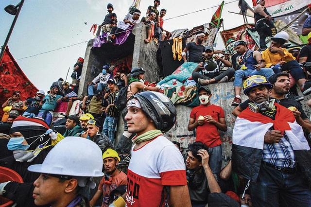 Irakezen in België leggen uit waarom deze revolutie anders is: 'Voor het eerst hangt er liefde in de lucht'