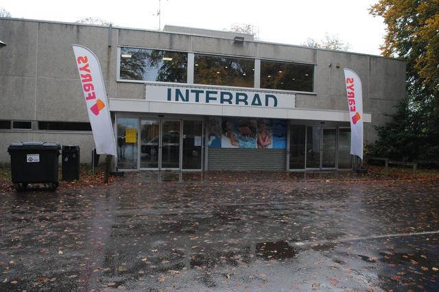 Interbad in Brugge dicht door waterlek