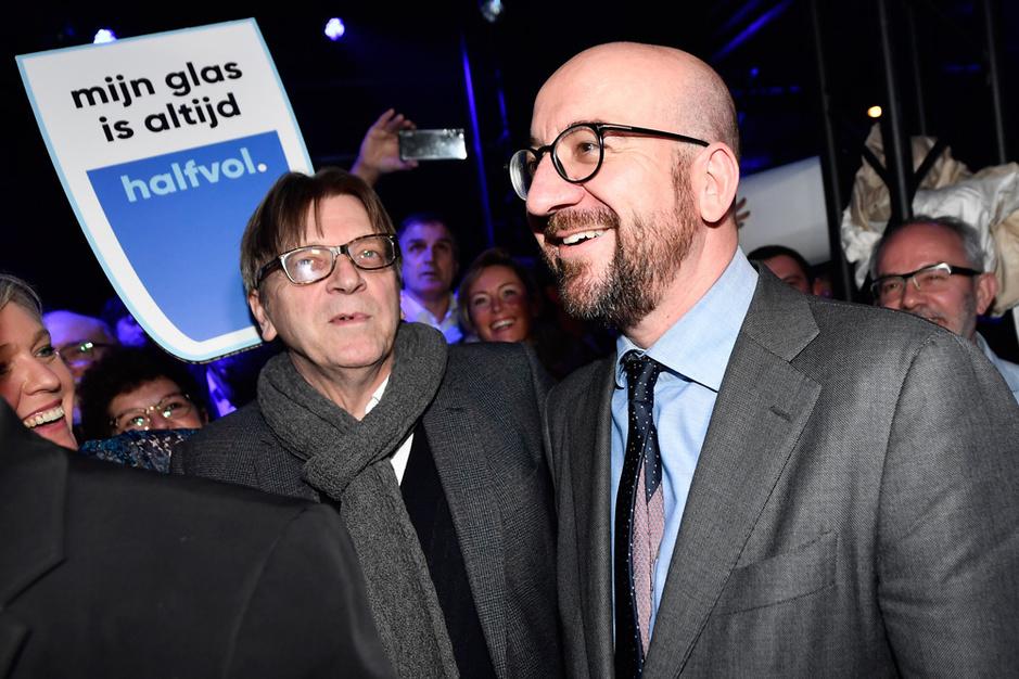 'Dit is dé kans voor Charles Michel om definitief af te rekenen met Verhofstadt'