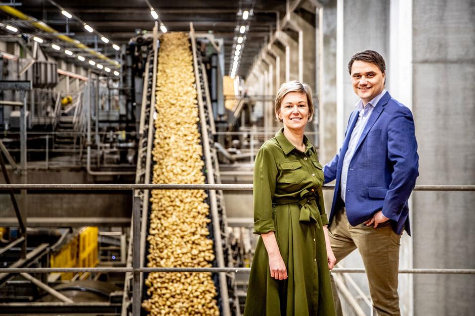 Agristo, beMatrix en C&W Logistics zijn de Ambassadeurs van de West-Vlaamse Gazellen