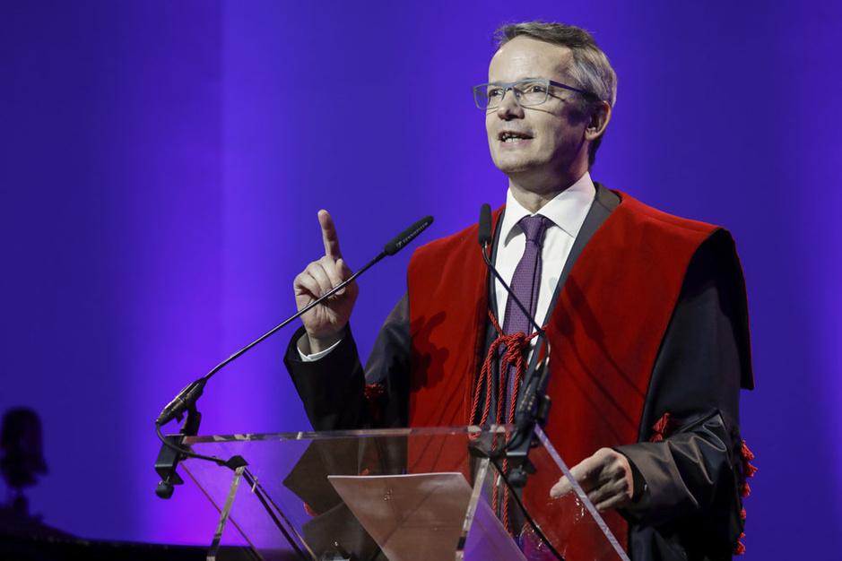 Luc Sels herkozen als rector van KU Leuven: 'Dit is geen tanker maar een vloot'
