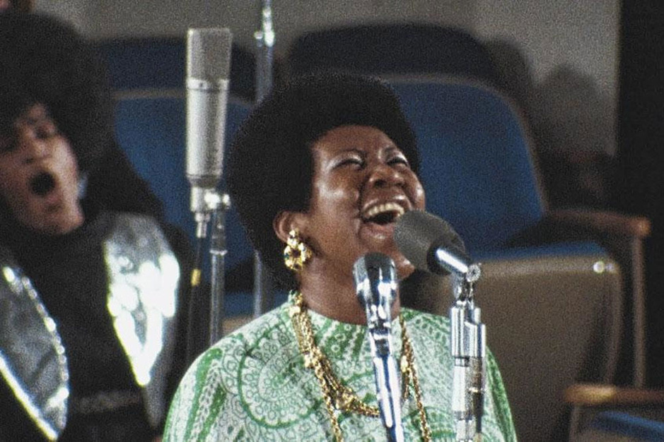 Concertfilm 'Amazing Grace', of hoe Aretha Franklin een rechtstreekse lijn met God inlegt