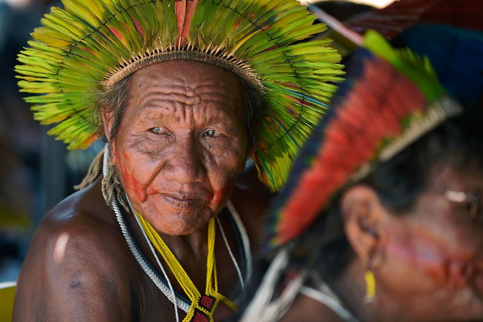 Amazonie : 300 leaders indigènes réunis au coeur de la forêt (en images)