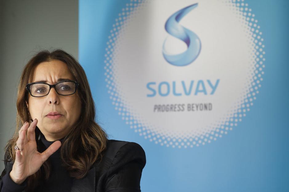 CEO Ilham Kadri: 'Geen heilige koeien bij Solvay'