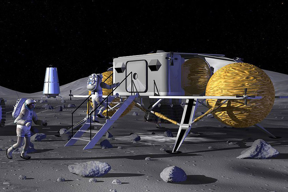 Ruimtetoerisme geen sciencefiction meer: 'Een maanbasis zou eind jaren twintig operationeel moeten zijn'