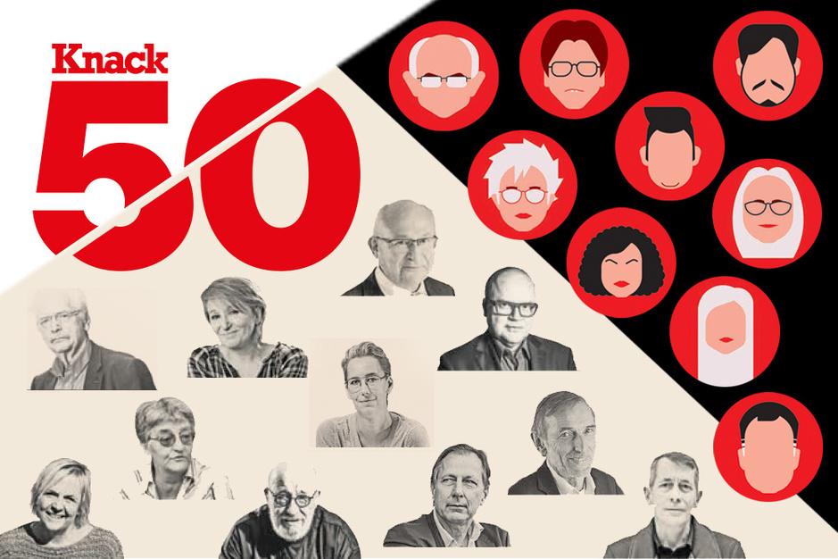'Toen ik die cover zag, was ik witheet': Alexander De Croo en 20 andere bevoorrechte getuigen over 50 jaar Knack