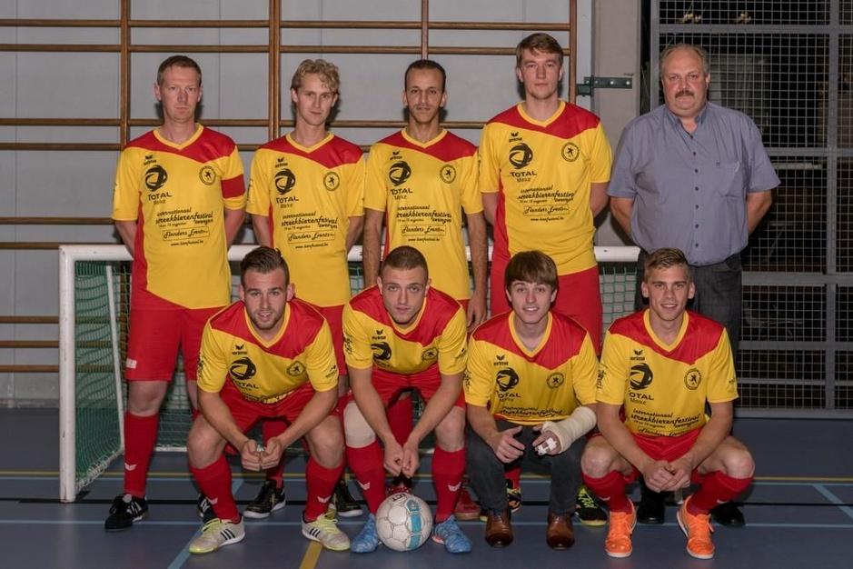 WDP Rollegem en Kortrijk spelen vanavond halve finale beker van België minivoetbal