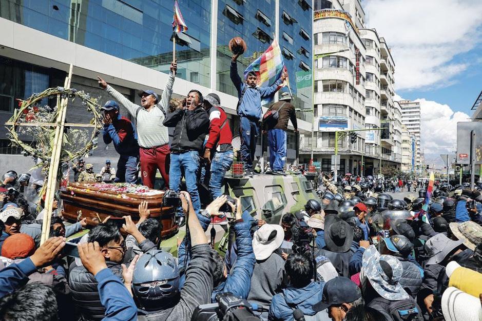 Minister van Binnenlandse Zaken Arturo Murillo: 'Evo Morales wilde van Bolivia een drugsstaat maken'