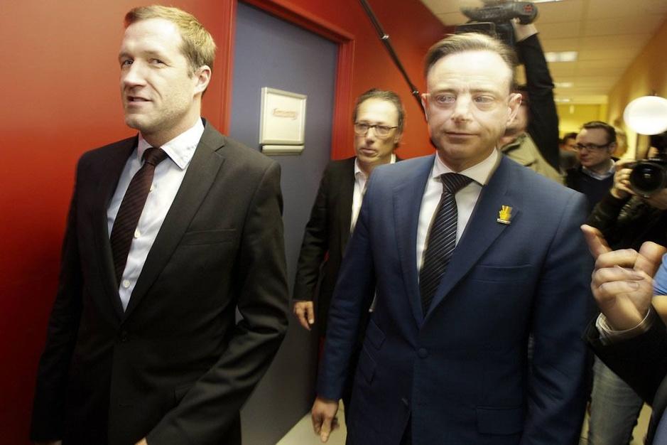 Het een-tweetje van Magnette en De Wever: 'Euh ja... dat is een lichtpuntje' (video)