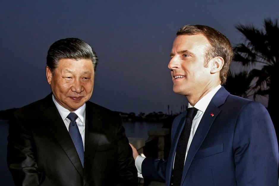 Krijgt Chinees president Xi na de rode loper in Rome een koude douche in Parijs?