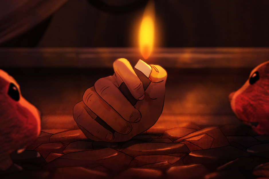 Een unieke animatiefilm over een hand: 'Geloof me, dit pitchen was moeilijk'