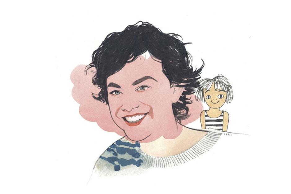 Illustrator Eva Mouton: 'Ik volg therapie, een groot cadeau aan mezelf'