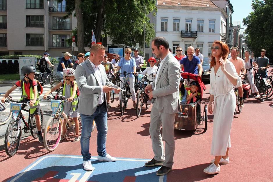 Kortrijk kiest voor fiets in het centrum