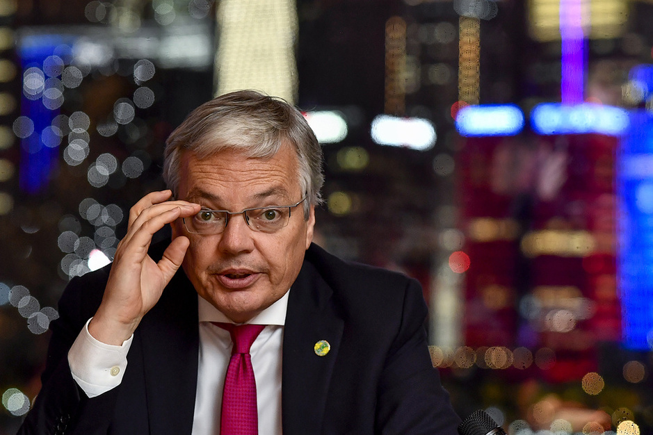 De laatste ministerraad van Didier Reynders: 'Er waren veel emotionele momenten' (video)