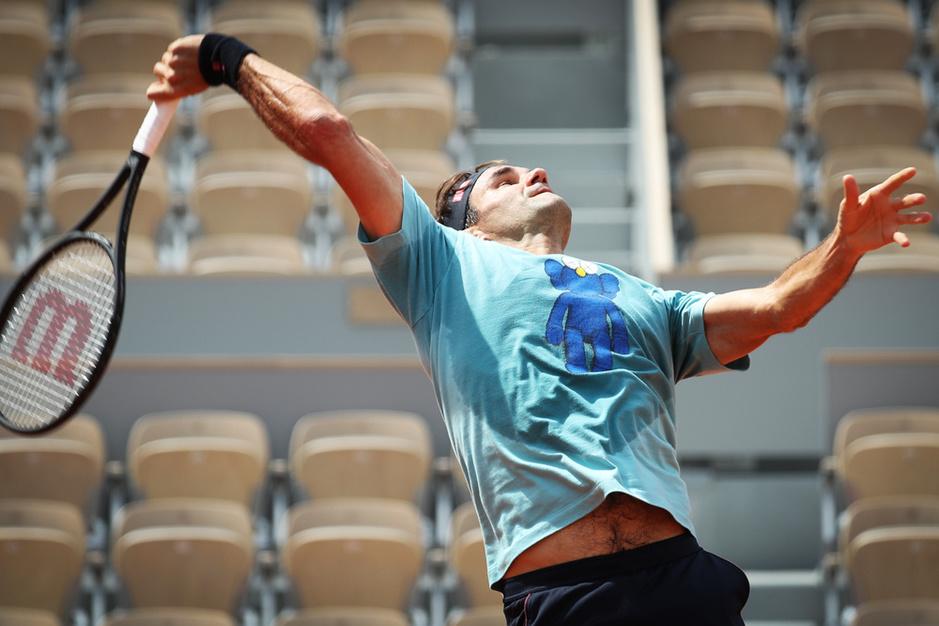 Roger Federer (38) voor comeback op Roland Garros: 'Dankzij mijn kinderen voel ik me nog heel jong'