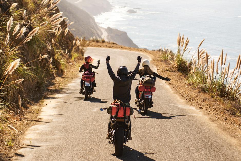 En images: les plus beaux roadtrips à moto, à travers la planète