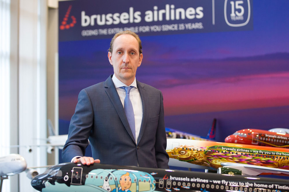 CEO Dieter Vranckx: 'Lufthansa gelooft in Brussels Airlines'