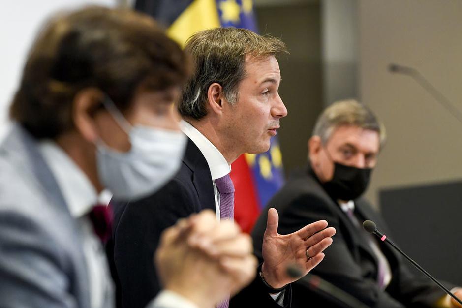 Premier Alexander De Croo: 'De relance is al bezig'
