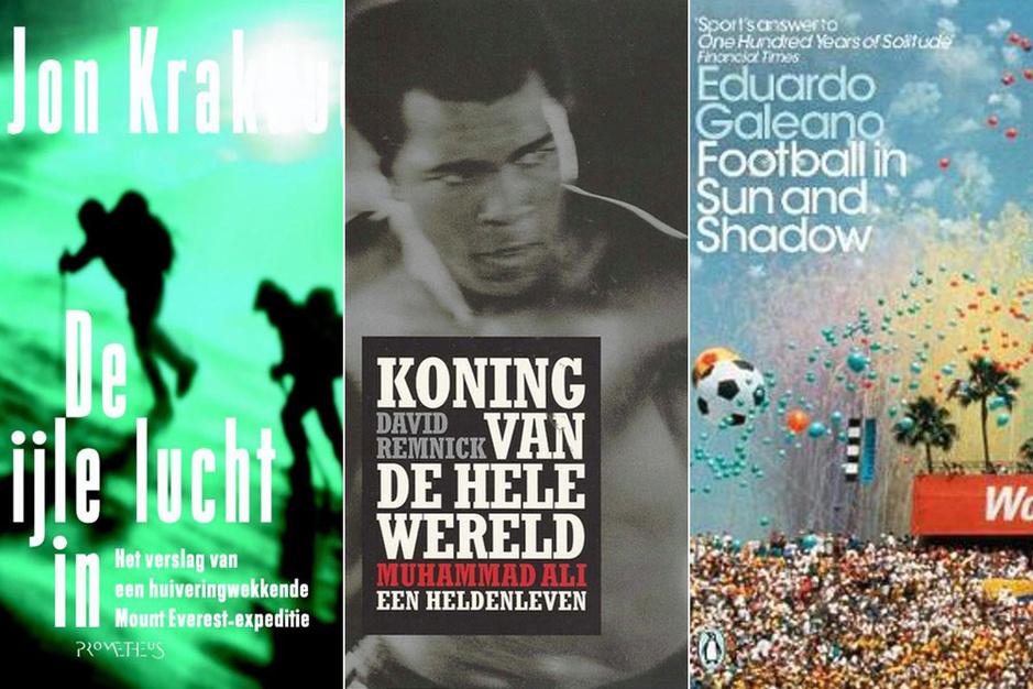 De drie beste sportboeken volgens Frank Raes: 'Mohamed Ali was een van de grootste sportmannen ooit'