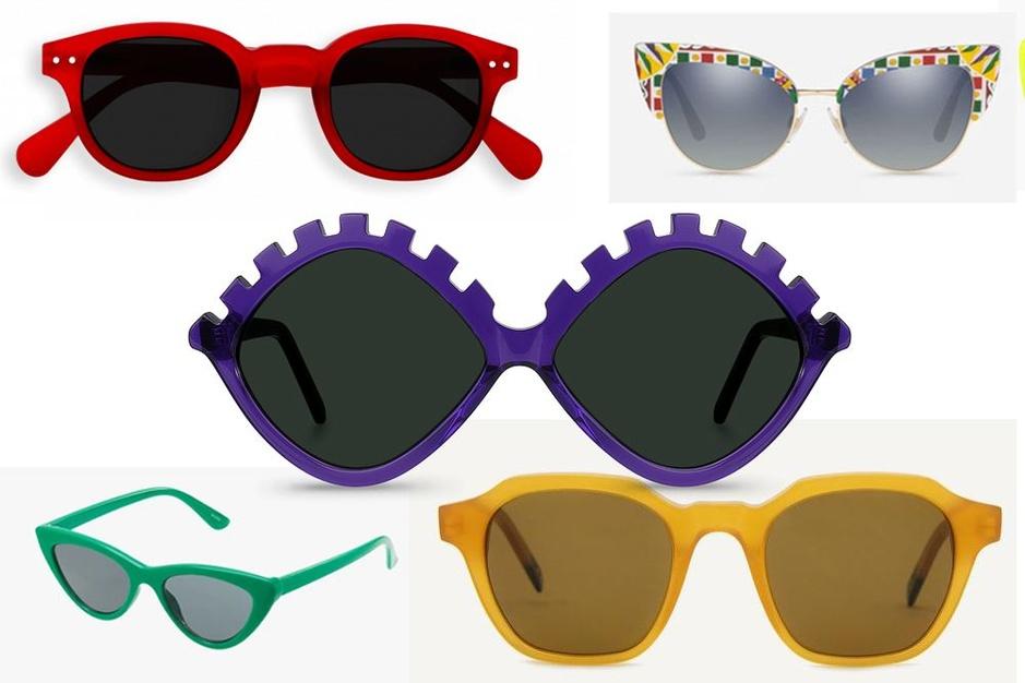 Shopping solaires: 20 modèles en technicolor