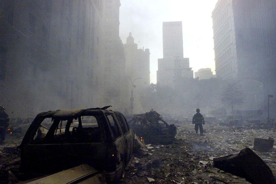 20 jaar na 9/11: deze foto's tonen hoe New York sinds de aanslagen veranderd is