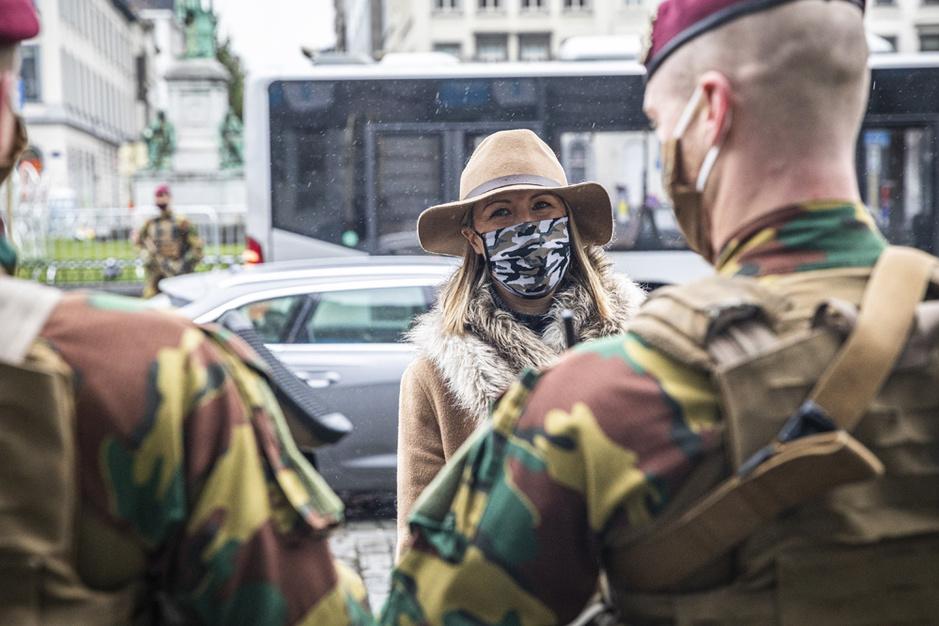 """Ludivine Dedonder: """"La Défense doit s'adapter au nouvel environnement géostratégique"""""""