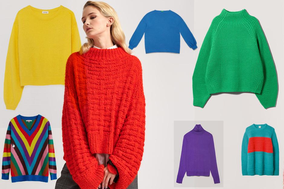 Shopping: 20 modèles de pulls et gilets, chauds et ultravitaminés