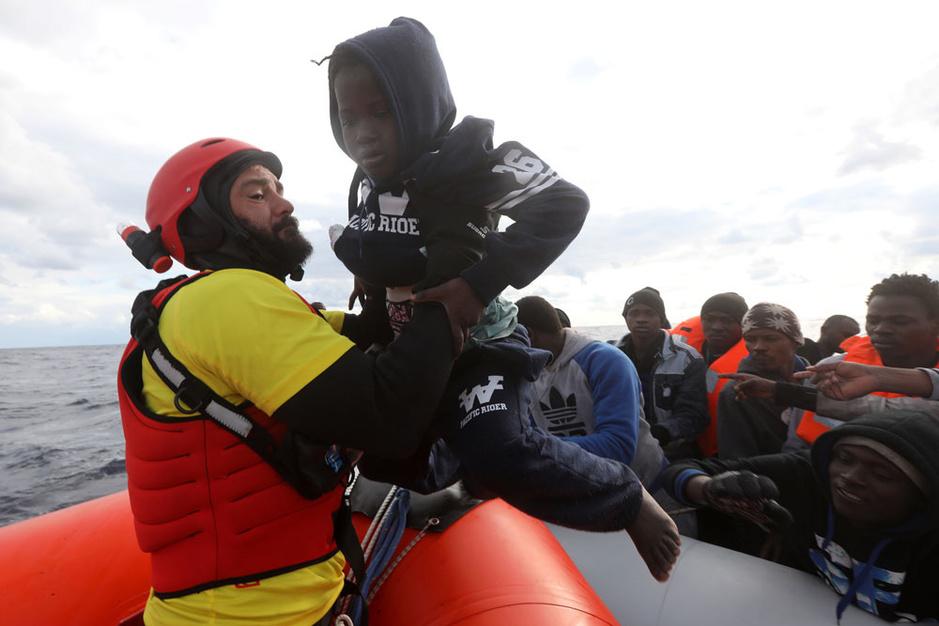 440 kinderen gestorven op weg naar Europa