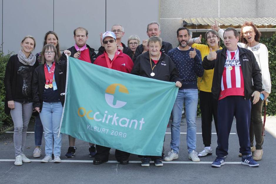 OC Cirkant ontvangt atleten van Special Olympics als helden