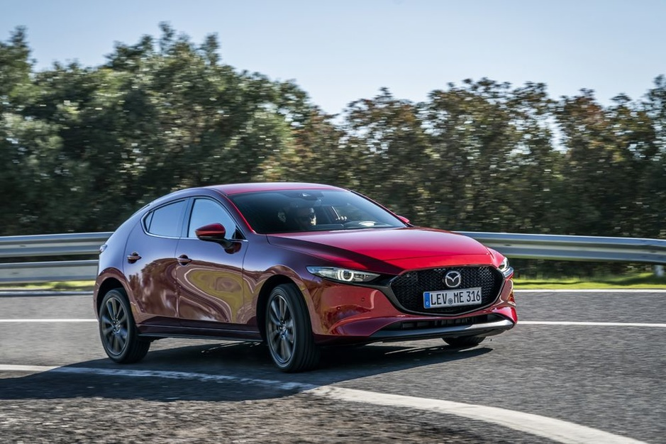 Beeldschone nieuwe Mazda 3 verraadt de hand van Belgische topdesigner