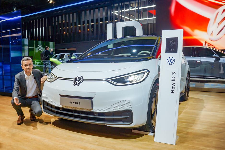 Volkswagen op het autosalon: 'Stroomversnelling is ingezet en niet meer te stoppen'