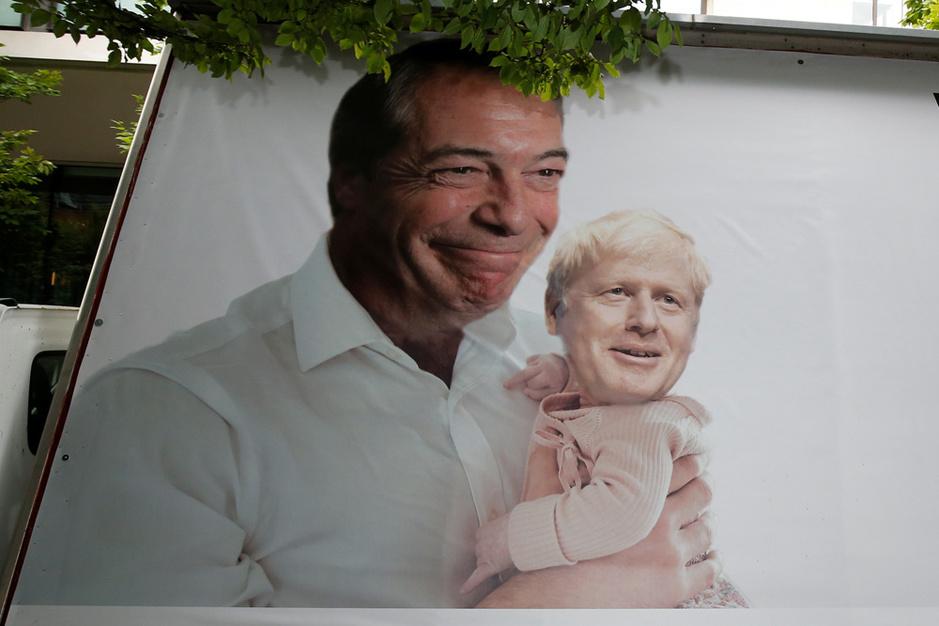 Waarom Boris Johnson weinig baat heeft bij de hulp van Nigel Farage