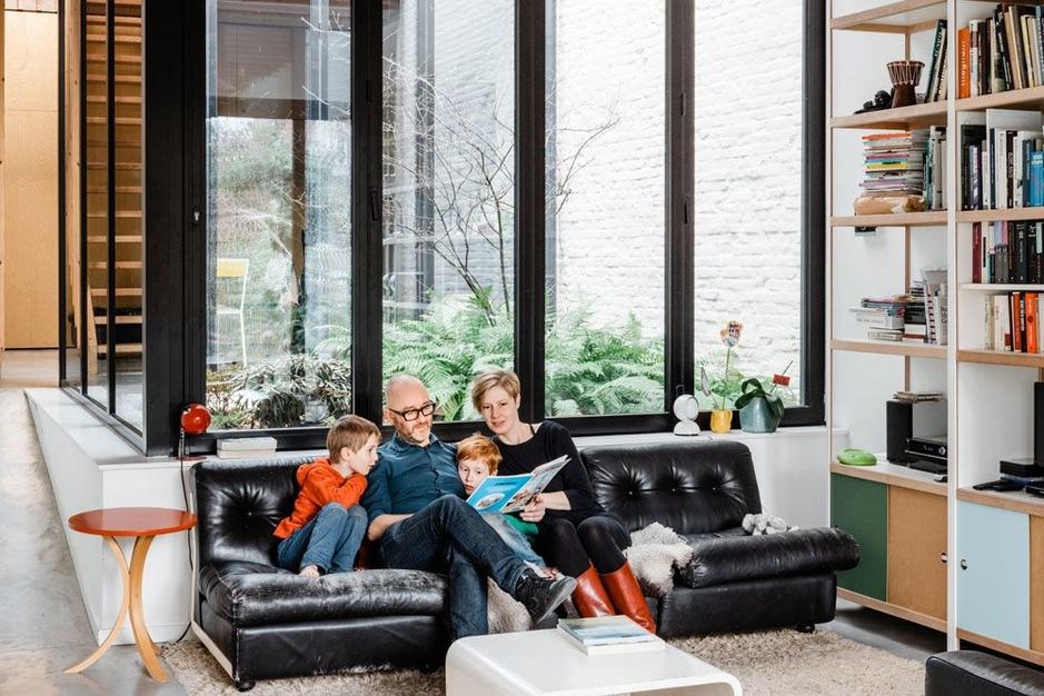 Er is leven na de sloop: bouwval wordt moderne gezinswoning