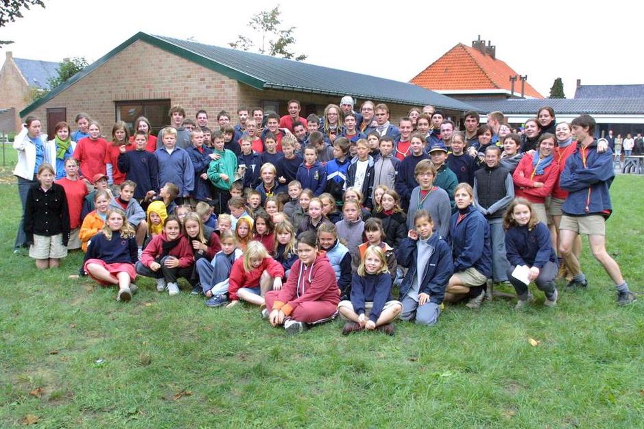 Chiro Wijnendale viert 75ste verjaardag tijdens dorpskermis