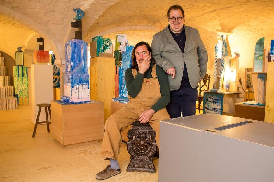 Kunstenaar Jan De Cock opent The Bruges Art Institute